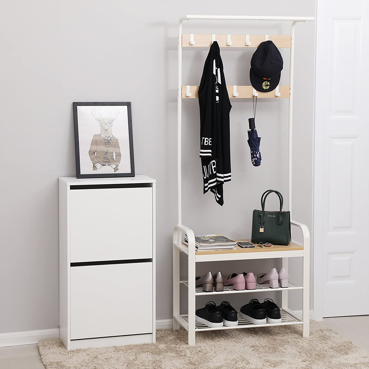Compacte garderobe Westerly, home24